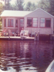 The Cabin at Rainbow Lake, were my dad wonders where I'd been with the boat so long.