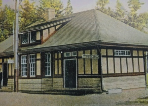 The Stony Wold Train Station, which became the Camp Lavigerie Store.