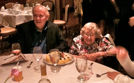 My parents' 60th Anniversary Dinner at The Mohonk Mountain House, July 19th, 2012